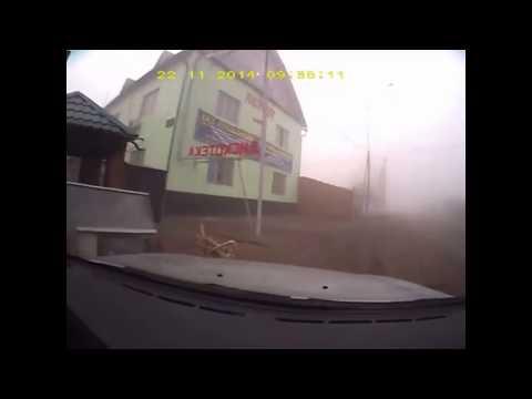 Авария из за тумана г Алматы