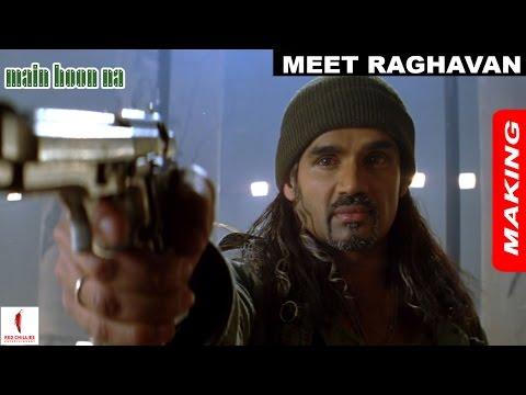 Video Main Hoon Na | Making | Suneil Shetty as Raghavan | Shah Rukh Khan | A Film by Farah Khan download in MP3, 3GP, MP4, WEBM, AVI, FLV January 2017