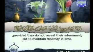 الجزء 18 الربع 7 : الشيخ عبد الباري الثبيتي