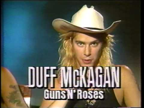 Deep Purple, Aerosmith and Guns N' Roses' News Report from 1988