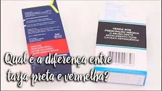 Momento Clinic Farma - Qual é a diferença entre tarja preta e vermelha?