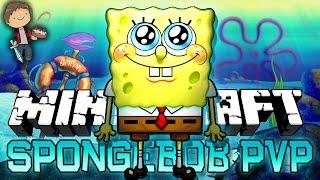 Minecraft: SpongeBob! Bikini Bottom PVP Mini-Game Challenge w/Mitch&Friends!