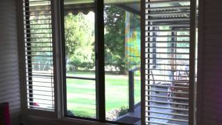Plantation Shutters 4 Panels with T-post Byron Bay