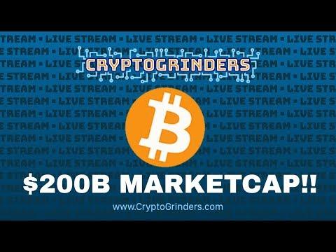BITCOIN HITS $200B MCAP! video