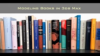 In this video we will go over the basics of modeling and unwrapping a book for use in visualization. Original Post at:http://www.dkcgi.net/2016/10/05/modeling-books-shelves-in-3ds-max/