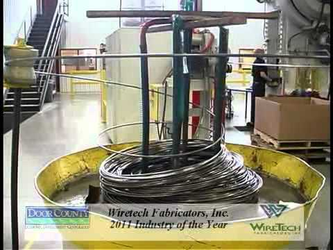 WireTech Fabricators Named Door County Industry of the Year