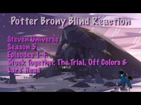 Redirect PotterBrony Blind Reaction Steven Universe Season 5 Episodes 1-4