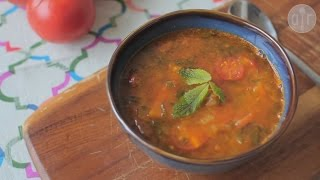 Wegańska marokańska zupa harira