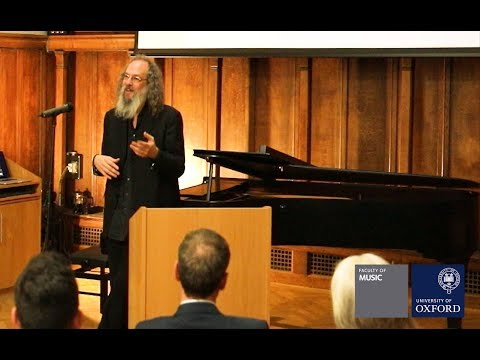 """Andrew Scheps at the University of Oxford - """"What Comes Out Of The Speakers""""."""