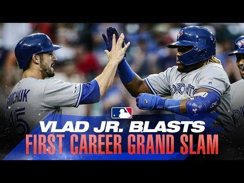 Video: Vlad Jr.'s first career grand slam