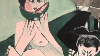 Mangeuse De Pastèque Et Homme écrivant (picasso)