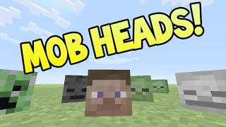 Minecraft (Xbox360/PS3) - TU19 UPDATE! - HOW TO GET MOB HEADS - TUTORIAL