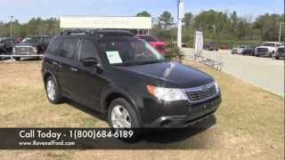 2009 SUBARU FORESTER X PREMIUM AWD Review * Charleston Car Videos * For Sale @ Ravenel Ford