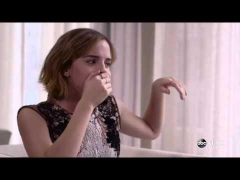 Emma Watson Beatbox for Lin-Manuel Miranda Gender Equality Rap (видео)