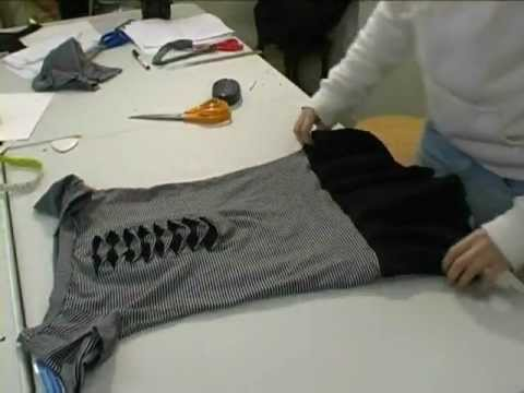 Recycled Tshirt Dress
