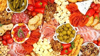 Easy & Impressive Charcuterie Board | Holiday Entertaining by The Domestic Geek