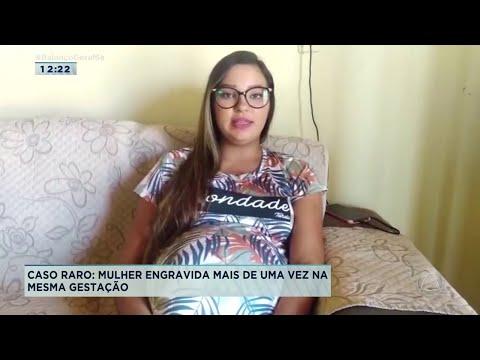 Mulher engravida mais de uma vez na mesma gestação em Lagarto - Balanço Geral Sergipe