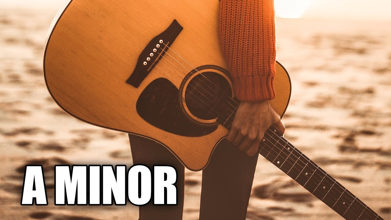 Morning Acoustic Guitar Backing Track In A Minor