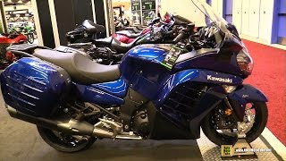 8. 2017 Kawasaki Concours 14 ABS - Walkaround - 2017 Montreal Motorcycle Show