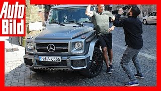Ralf Moeller im AMG G 63 - Hollywood-Star über Autoposer by Auto Bild