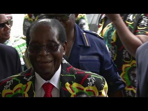 «Ξανά» πρόεδρος ο Μουγκάμπε