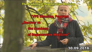 "TV3 Wroclaw, Program ""Recover at the European Academy of Folk Medicine"""