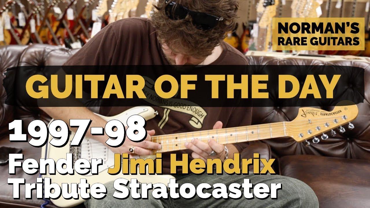 Guitar of the Day: 1997-98 Fender Jimi Hendrix Tribute Stratocaster   Norman's Rare Guitars
