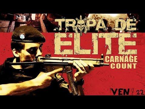 Elite Squad (2007) Carnage Count
