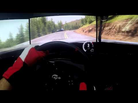 DiRT Rally - Pikes Peak - Peugeot 405 T16 - Onboard Triple Screen