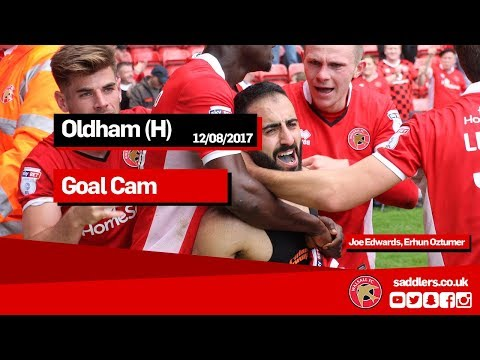 GOAL CAM | Walsall 2-1 Oldham Athletic | Joe Edwards, Erhun Oztumer