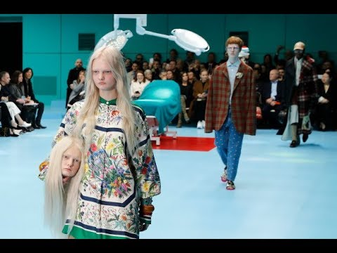 Woah! Models Carry Severed Heads Down the Aisle At Fashion Show!