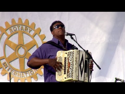 Chubby Carrier and the Bayou Swamp Band - 5 28 2016 Simi Valley Cajun & Blues Music Fest.