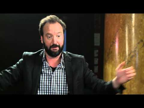 Backstage with Tom Green at the Melbourne International Comedy Festival Gala 2012