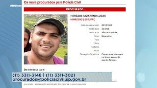 Homem que matou a filha de 13 anos em São Roque está na lista dos mais procurados