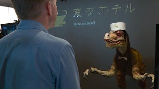 Video Robot-staffed hotel opens in Japan MP3, 3GP, MP4, WEBM, AVI, FLV Maret 2019