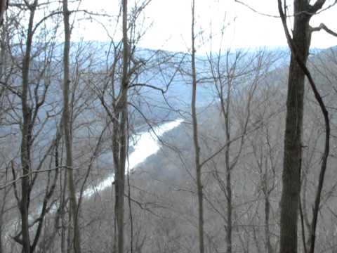 Horseback Riding in Appalachian Mountains, New River in view