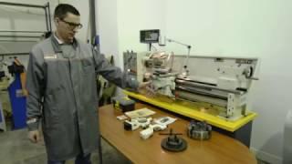 Универсальный токарно-винторезный Metal Master X40100 с УЦИ