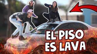 """Jugamos al JUEGO """"EL SUELO ES LAVA"""" (el piso es lava)   con mis HERMANOS!! espero que les guste y se diviertan como..."""