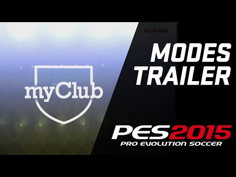 official trailer - By popular request, we bring you new and exciting info about the new modes available in PES 2015. Find out all the details about myClub, Live Updates, the revamped Master League mode and much.