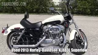 8. Used 2013 Harley Davidson XL883L Superlow for sale Tampa