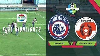 AREMA FC (4) vs (1) PERSERU SERUI - Full Highlight   Go-Jek Liga 1 bersama Bukalapak