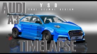 Audi A3 photoshop and render TIME LAPSE Song: Jim Yosef - Speed [NCS Release] Music provided by NoCopyrightSounds. Video Link: https://youtu.be/lP6mK2-nLIk D...