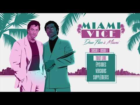 Menu Blu ray Miami Vice