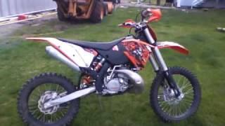 10. 2009 KTM 200xc