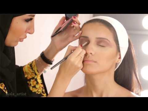 bride makeup 2015 Rola Alghoul مكياج العروس 2015 رولا الغول (видео)