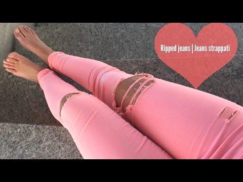 Ripped Jeans | Pantaloni strappati