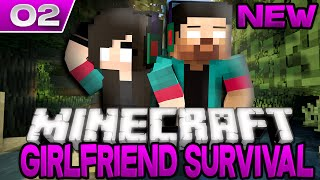 "GIRLFRIEND SURVIVAL (1.8 Vanilla Survival) w/My Girlfriend! Ep.2 ""ANJA VS BABY ZOMBIES!"""