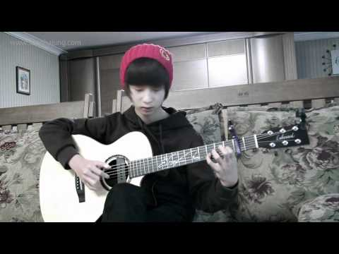 (ABBA) Happy New Year - Sungha Jung