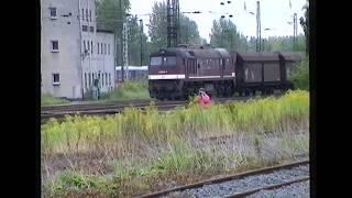 Deutsche Reichsbahn 1992 -  Alltag in Neukieritzsch