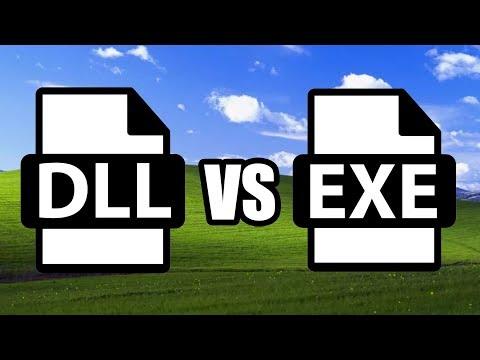 DLL vs EXE | Windows DLL Hell
